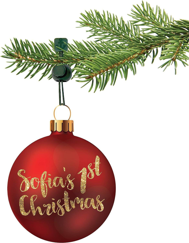 ORNAMENT ANCHOR Christmas Ornament Hooks   No-Slip Ornament Hang
