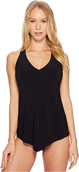 Magicsuit Solids Taylor Underwire Tankini Top