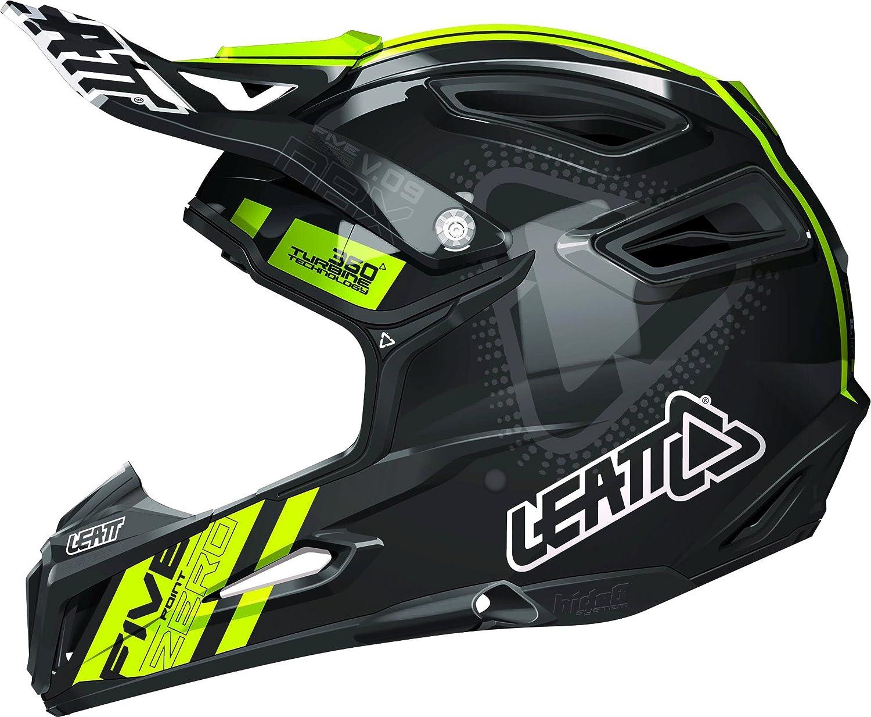 Leatt DBX 5.0 V09 Adult Off-Road Brand Cheap Sale Venue Black OFFer - MX Helmet Motorcycle Ye