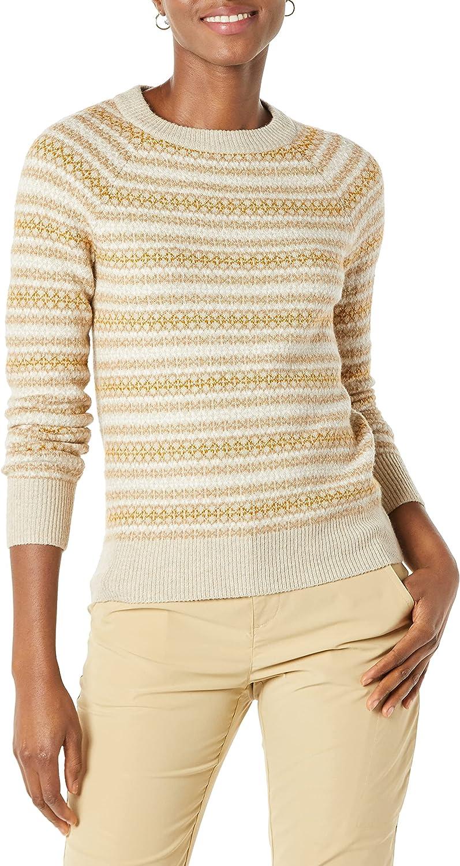 Amazon Essentials Women's Soft-Touch Crewneck Novelty Sweater