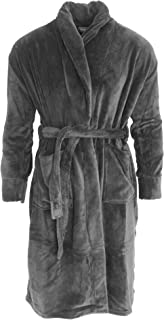 Harvey James Mens Supersoft Dressing Gown/Robe