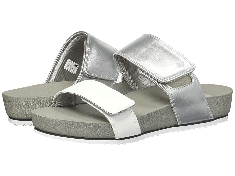 New Balance City Slide (Silver) Women