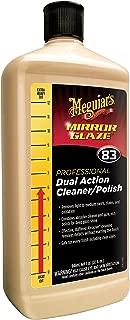 Meguiar's M83 Mirror Glaze Dual Action Cleaner Polish - 32 oz.