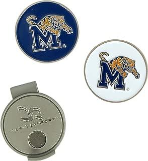 Team Effort Memphis Tigers Hat Clip & 2 Ball Markers