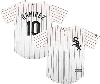 Outerstuff Manny Ramirez Chicago White Sox #10 White Youth Cool Base Home Replica Jersey