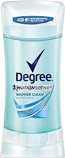 Degree Women Antiperspirant Deodorant Stick, Shower Clean, 2.6 Ounce (Pack of 1)