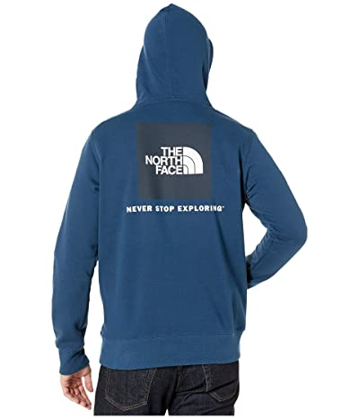 The North Face Red Box Pullover Hoodie (Blue Wing Teal) Men