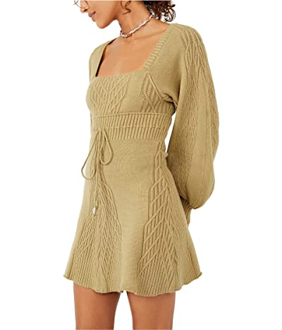 Free People Emmaline Mini Sweater Dress