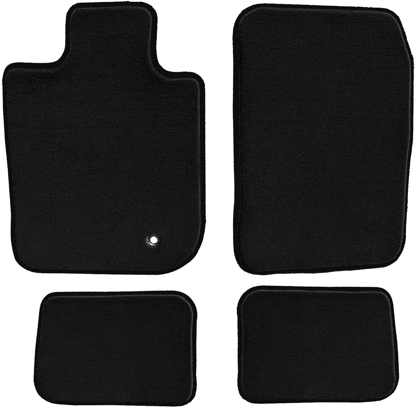 GGBAILEY D3874A-S1A-BK-LP Ranking integrated Max 79% OFF 1st place Custom Fit Car 2011 for 20 Mats 2010