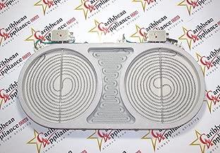 318258201 - Dual Radiant Bridge Element/Surface Burner (1800/2600 watt) for Stove/Oven by Frigidaire (Rep. 318258202, 318258200, 318178200, 318177910, 318177900)
