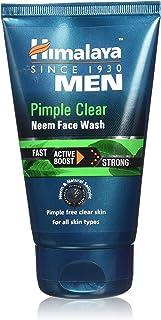 Himalaya Men Pimple Clear Neem Facewash 100 ml, Pack of 1