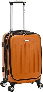 "Rockland Titan 19"" Polycarbonate Spinner Carry on, Orange (Orange) - F2401-ORANGE"