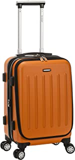 "Rockland Titan 19"" Polycarbonate Spinner Carry On, Orange"