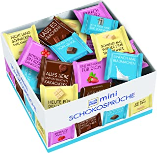 Ritter Sport Mini Mix Chocolate Sayings (84 Pieces) 1400g
