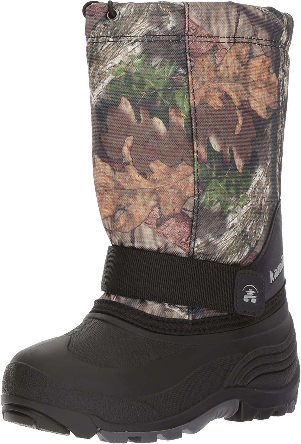 Kamik Unisex-Kids Rocketcamo Snow Snow Stiefel, Mossy Oak Camouflage, 3 Medium US Little Kid  klassischer Stil