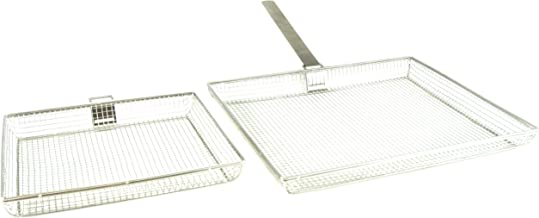 Charcoal Companion Mesh Baskets (Set of 2) w/Removable Handle (Small/Large) - CC3120