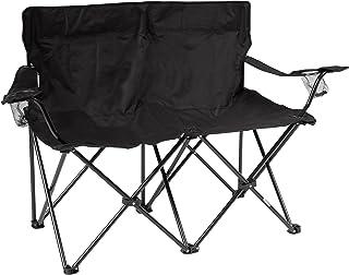 نوآوری های تجاری 31.5 اینچ صندلی دوبل کمپ H Loveseat با قاب فولادی