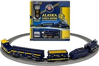 Lionel Alaska Gold Mine Steam, Electric O Gauge Model Train Set, Remote with Bluetooth Compatibility
