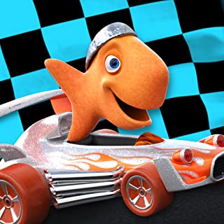 goldfish race track