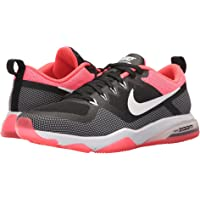 Nike Air Zoom Womens Fitness Shoes (Black/White/Solar Red)