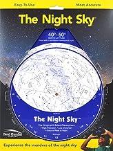 The Night Sky 40°-50° (Large) Star Finder PDF