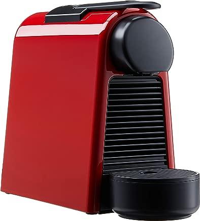 Nespresso Essenza Mini Coffee Maker with Aeroccino Bundle, Ruby Red, A3ND30-SG-RE-NE