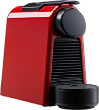 Nespresso Essenza Mini Coffee Maker with Aeroccino Bundle, Ruby Red, A3ND30-SG-RE-NE