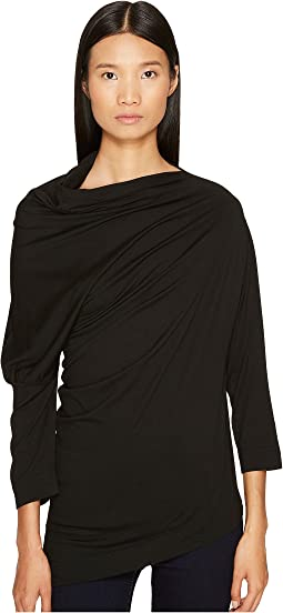 Liberate Drape Neck Long Sleeve Top