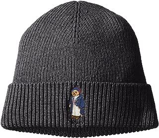 Men`s Toggle Coat Bear Knit Hat