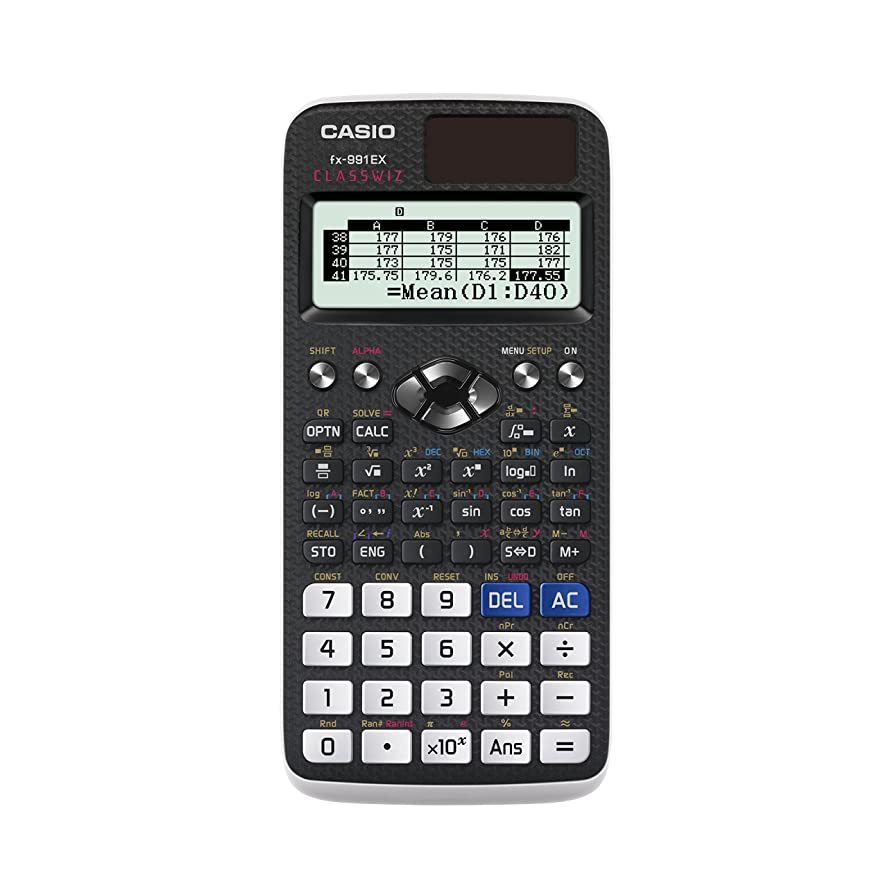 スリラー評議会アレルギーCasio fx-991ex Advanced Scientific Calculator