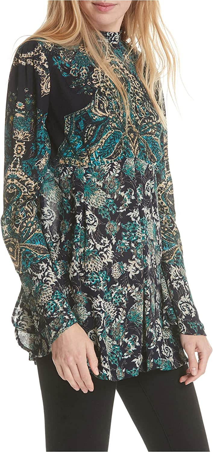 2021 spring and summer new Free People Lady Printed Tunic Limited time cheap sale Luck