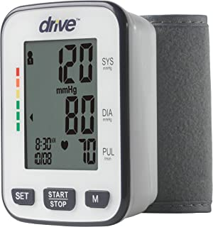 Drive Automatic Deluxe Blood Pressure Monitor, Wrist, Model - BP3200