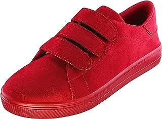 Zapatoz Women's Red Sneakers-5 UK/India (38 EU) (zap7604-Red-38)