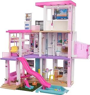 Barbie Dreamhouse (3.75-ft) 3-Story Dollhouse Playset...