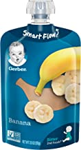 Gerber 2nd Foods, Banana Pureed Baby Food, 3.5 Ounce Pouch (Pack of 12) - Packaging May Vary