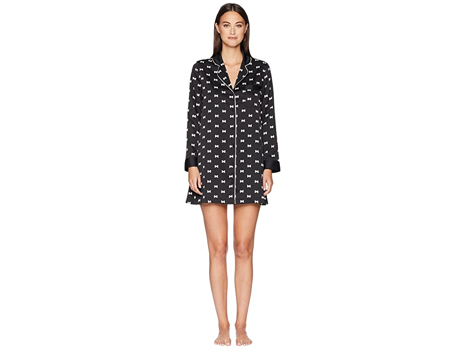 Kate Spade New York Charmeuse Sleepshirt (Bows) Women