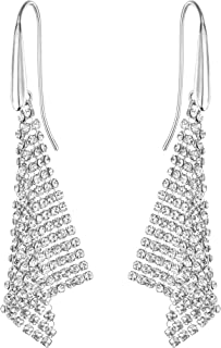 Swarovski Fit Collection Chandelier Dangle Pierced...