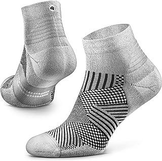 Flare Running Socks for Men and Women, Cushion, Quarter...