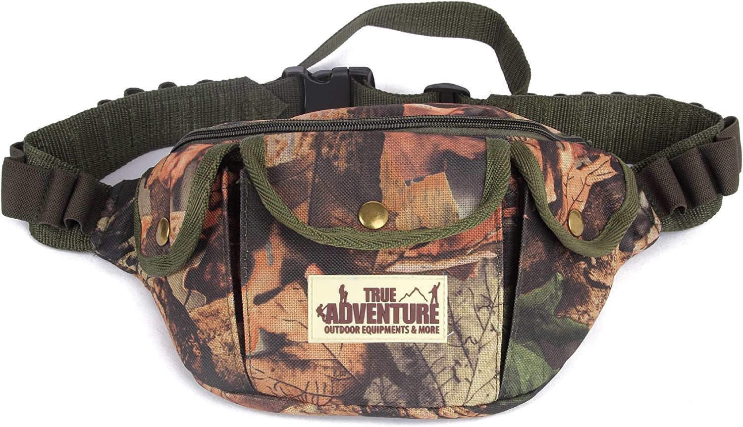 HITSAN True Adventure Hunting Multifunctional Tactical MultiPurpose Camouflage Bag Vest Utility Pack One Piece