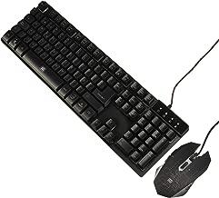 Vorago KM-500 Kit Start The Game, Teclado y Mouse Retroiluminado USB, Color Negro
