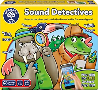 Orchard Toys Sound Detectives Board Game, Multi-Colour