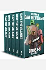 The Legend of Dave the Villager Books 1–5: a collection of unofficial Minecraft books (Dave the Villager Collections Book 1) Kindle Edition