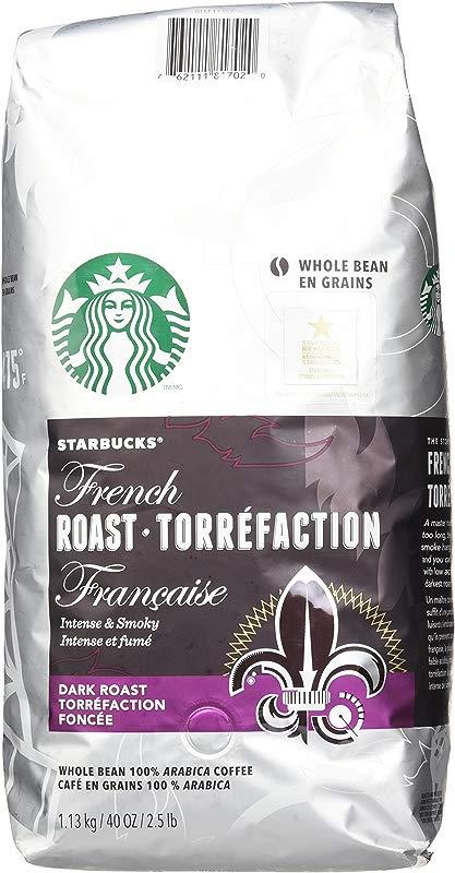 Starbucks French Roast Whole Bean Coffee 40 Ounce