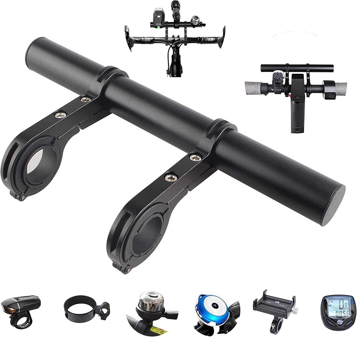 Tinke All items free shipping Handlebar Extender Bicycle Bracket Alloy Time sale Aluminum Extensio