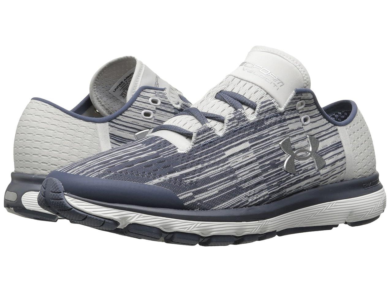 繰り返した拒否刃(アンダーアーマー) UNDER ARMOUR レディースランニングシューズ?スニーカー?靴 Speedform Velociti GR Apollo Gray/Glacier Gray/MSV 9 (26cm) B - Medium
