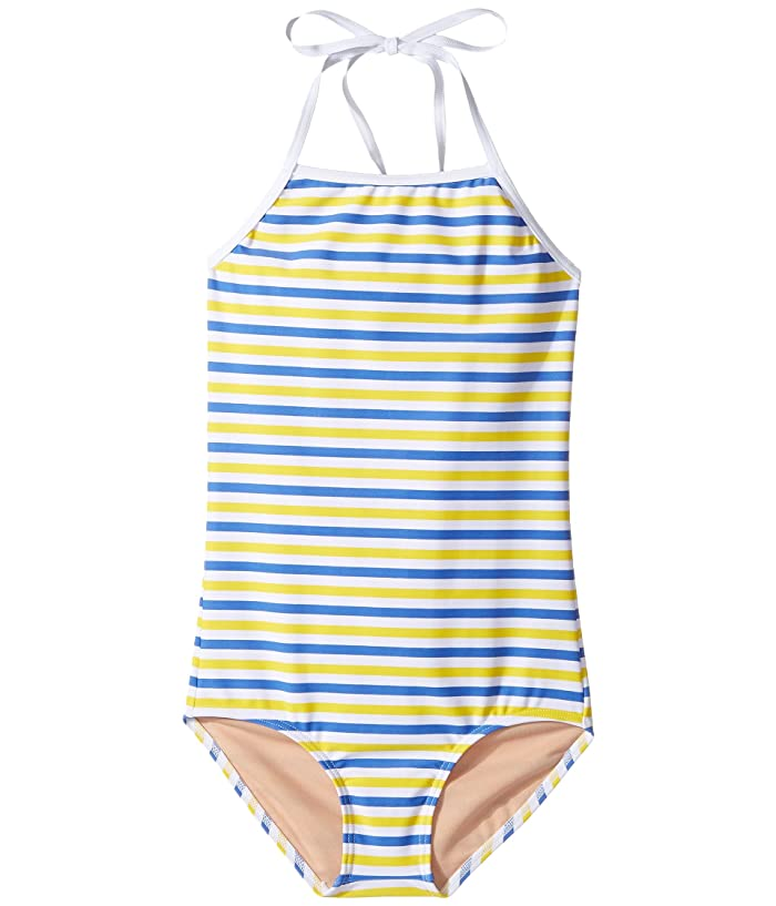 7ead23aabdb Toobydoo Blue & Yellow Stripe One-Piece (Infant/Toddler/Little Kids ...