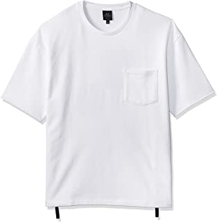 Armani Exchange Men's 3GZMGE Tops, White, X-Large