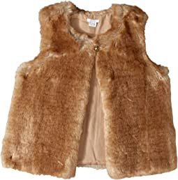 Sleeveless Faux Fur Vest (Big Kids)