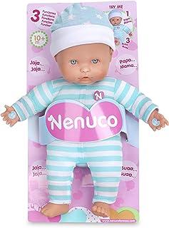 Nenuco Baby 3 Funciones Mameluco, color Azul