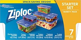 Ziploc Variety Starter Container, 7 Count